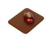 余裕のマウス操作、ビッグサイズの革製マウスパッド